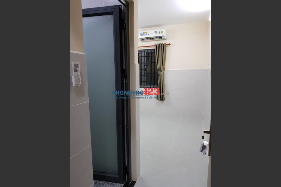 Cho thuê phòng trọ, nhà mới xây, có máy lạnh và nước nóng