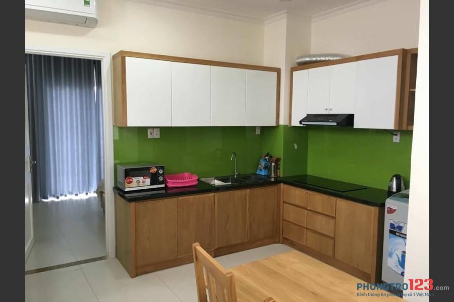Cho thuê căn hộ dịch vụ 1PN Bùi Hữu Nghĩa, Quận Bình Thạnh full nội thất