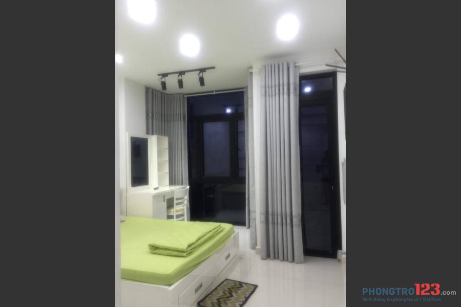 Cho thuê căn hộ dịch vụ 1PN Nguyễn Trãi, Quận 5 full nội thất