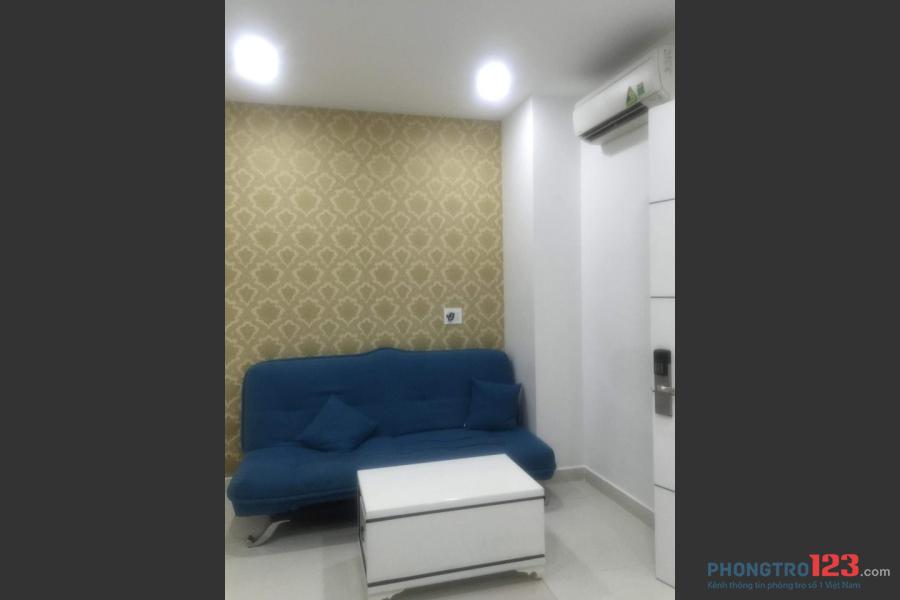 Cho thuê căn hộ dịch vụ 2PN Nguyễn Trãi, Quận 5 full nội thất
