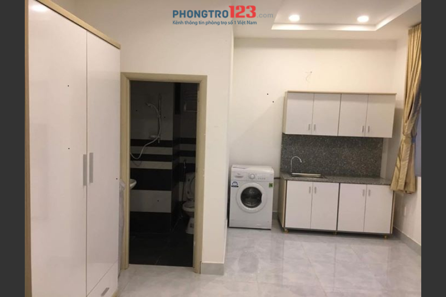 Cho thuê căn hộ mini ngay Làng Đại Học khu B - trên đường Nguyễn Hữu Thọ - Quận 7
