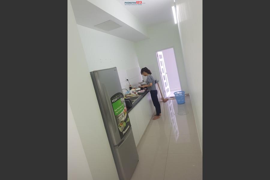 Tìm nữ share phòng chung cư Topaz City Q.8 full nội thất