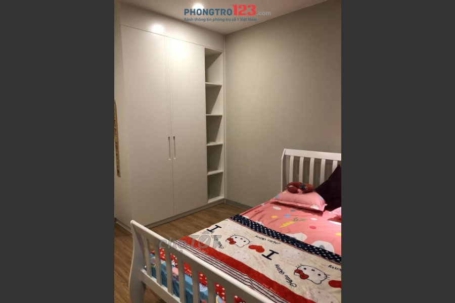 Cần cho thuê căn hộ Tản Đà, 86 Tản Đà, Q.5, DT 102m2, 3PN, 2WC, 16tr/th