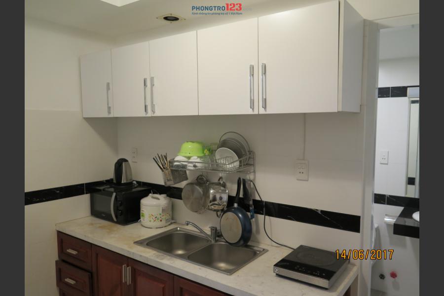 Cho thuê căn hộ cao cấp, hẻm 72/5 Bạch Đằng, P.24, Q.Bình Thạnh, TP.HCM