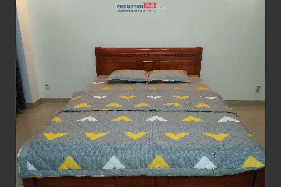 Cho thuê căn hộ mini, nội thất mới 100% an ninh - sạch sẽ ngay Phan Văn Trị, Q.Gò Vấp