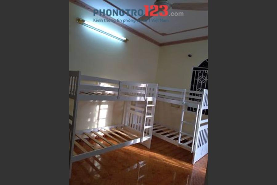 Tìm người ở ghép ktx giường tầng, đầy đủ tiện nghi Nơ Trang Long, Bình Thạnh