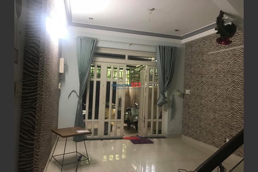 Cho thuê lầu 1 2 phòng ngủ full nội thất