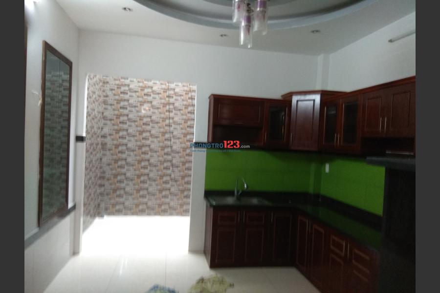 Cho nữ thuê phòng Quận 12, gần cv phần mềm Quang Trung