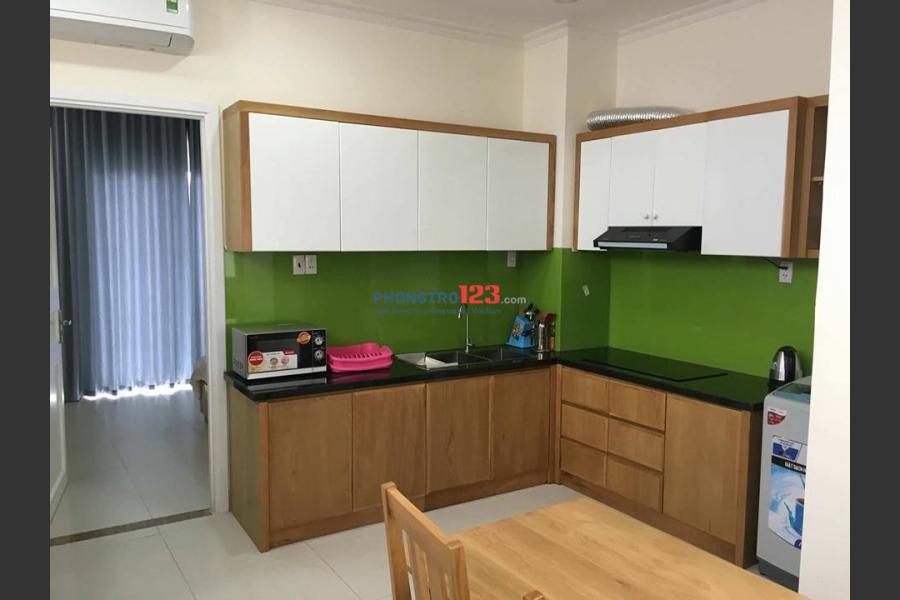 Cho thuê căn hộ dịch vụ 1PN Bùi Hữu Nghĩa, Quận Bình Thạnh giá rẻ