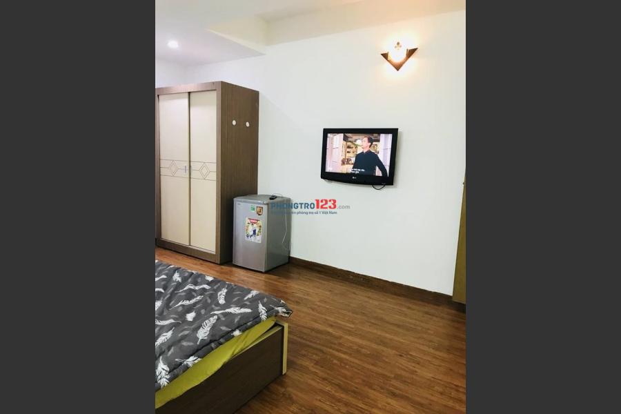 Cho thuê căn hộ dịch vụ studio Phạm Viết Chánh, Quận 1 full nội thất