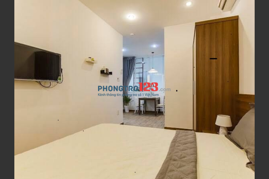Cho thuê căn hộ cao cấp 1PN và 2PN ngay tại trung tâm Trần Nhật Duật, Q.1