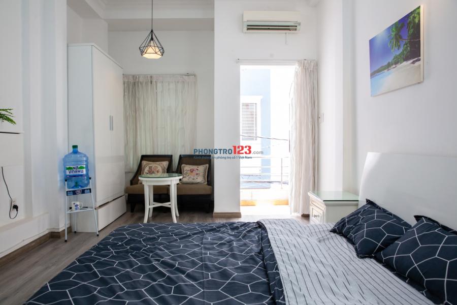 Căn hộ dịch vụ Nguyễn Thị Minh Khai Q1/đầy đủ nội thất/chính chủ/giá từ 8 triệu