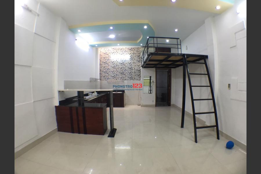 Phòng trệt, Máy lạnh, gác lửng, DT 30m2, 60/19 Lâm Văn Bền, gần cư xá ngân hàng. Giá: 4tr/ tháng