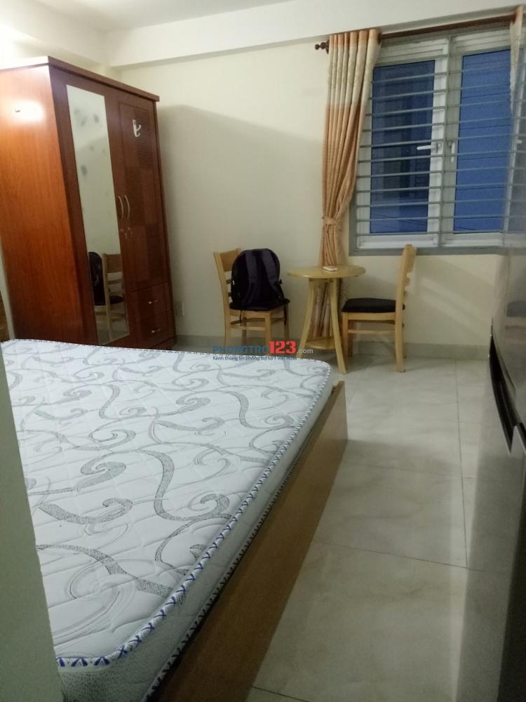 Cho thuê phòng trọ cao cấp, an ninh, sạch sẽ, đường Phan Huy Ích, quận Tân Bình