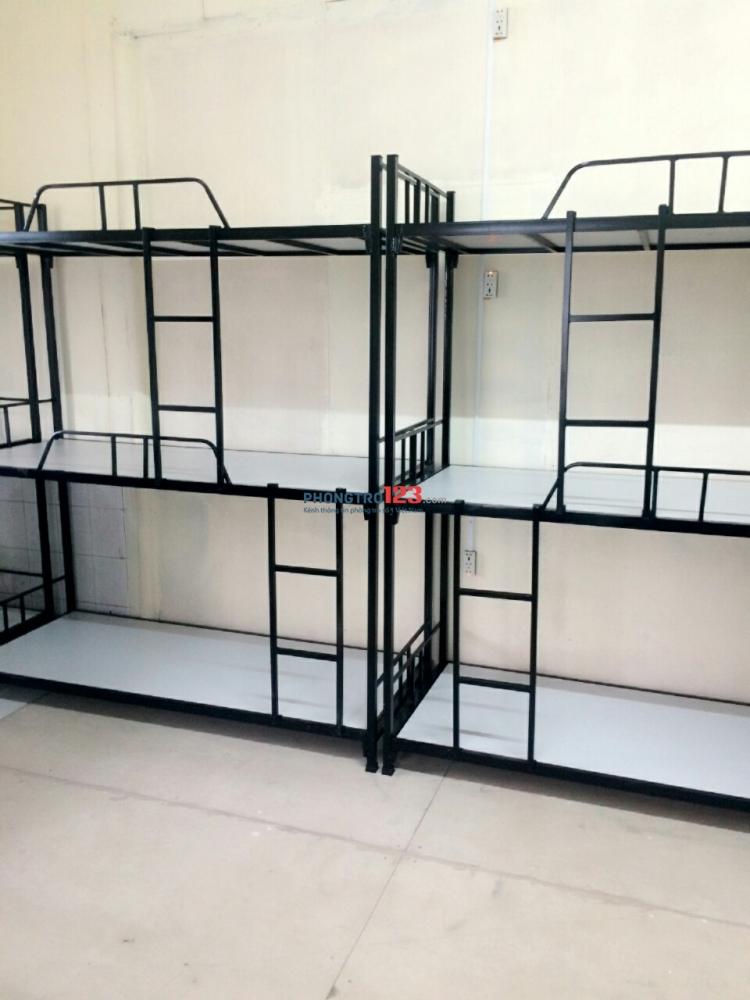 Cho thuê KTX máy lạnh 450k/tháng gần công viên Hoàng Văn Thụ