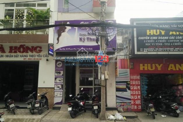 Cho thuê mặt bằng mặt tiền Phạm Phú Thứ, nơi buôn bán tấp nập ngày đêm, sang gấp giá mềm