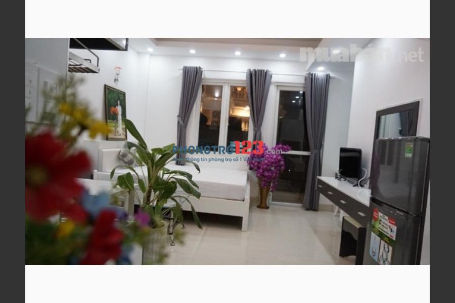 Căn hộ cao cấp full nội thất tại Nguyễn Văn Trỗi, trung tâm Quận 3