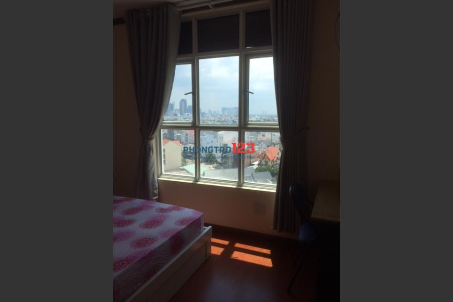 Phòng ở CC Hoàng Anh Thanh Bình full nội thất. Đối diện ST Lotte Mart, gần ĐH Rmit và Tôn Đức Thắng.