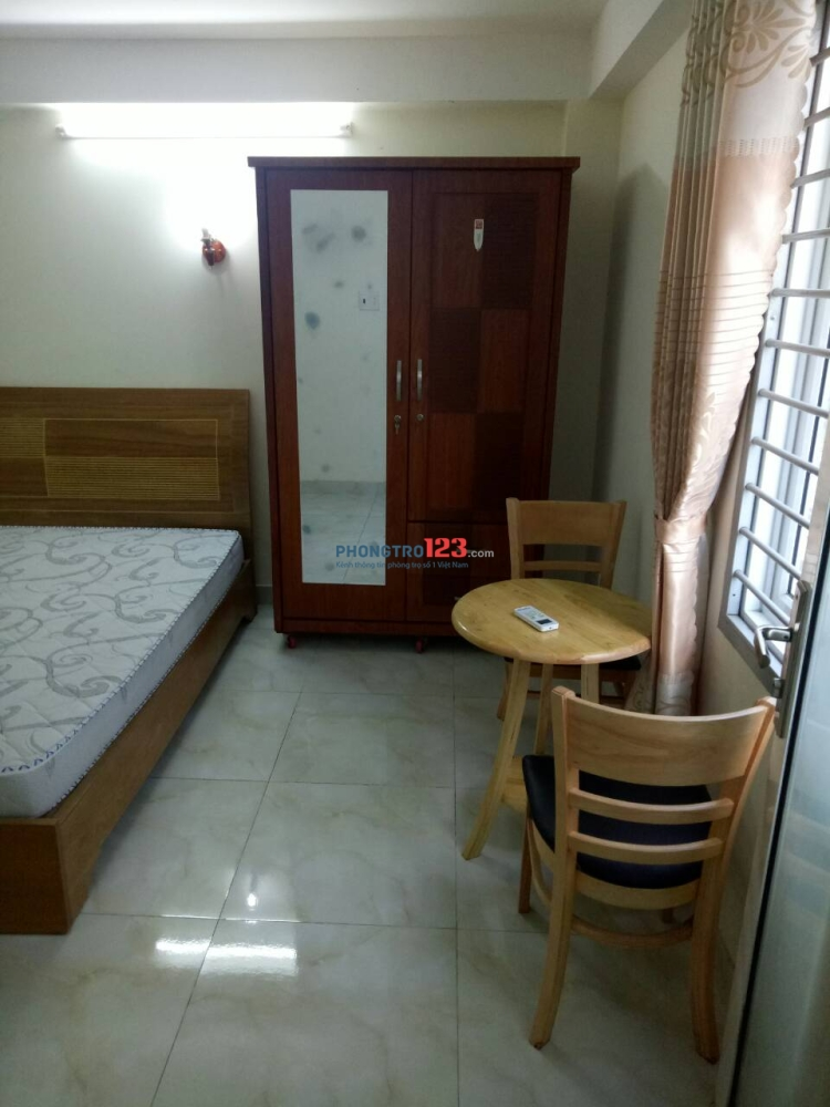 Cho thuê căn hộ giá rẻ, nội thất full, đường Phan Huy Ích, quận Tân Bình