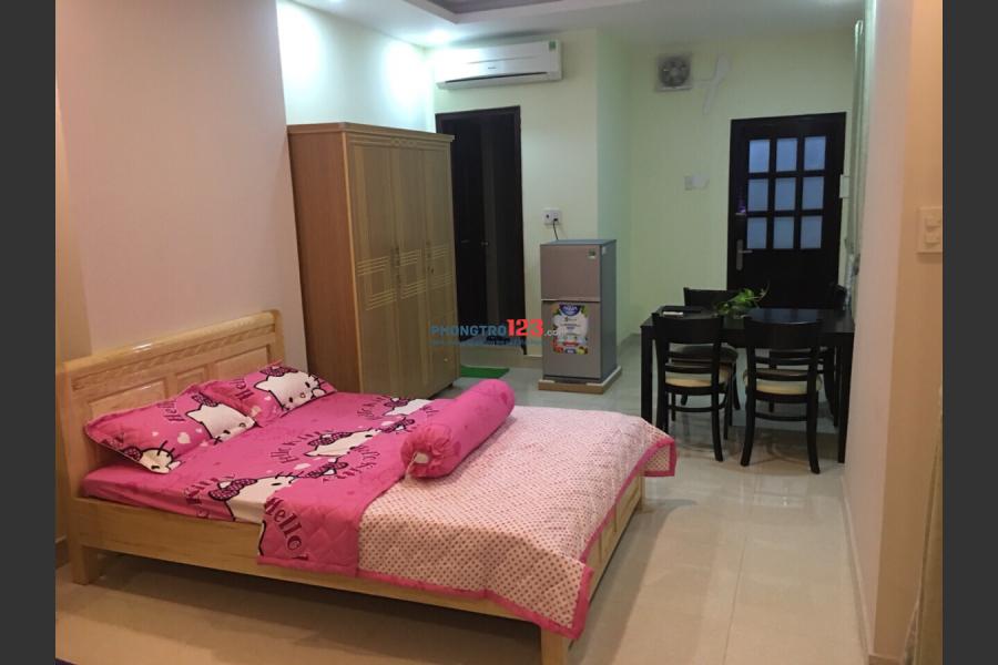 Cho thuê phòng đầy đủ tiện nghi dt từ 20-40m2 đường Cộng Hòa khu K300 Q.Tân Bình
