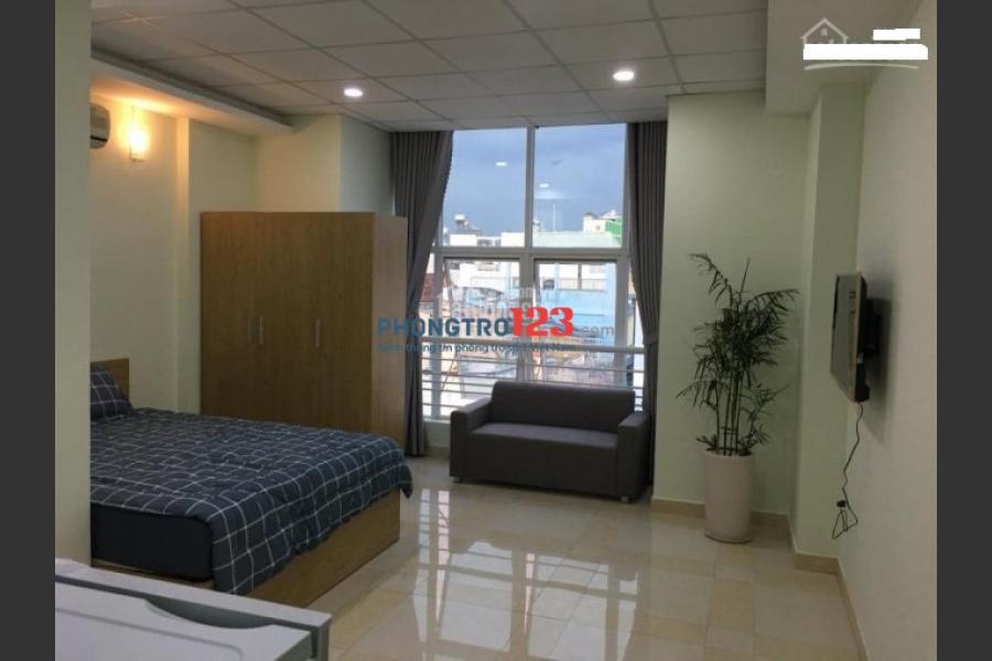 Cho thuê căn hộ đầy đủ tiện nghi Huỳnh Văn Bánh