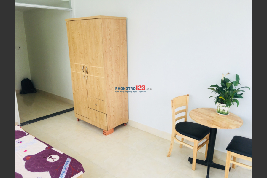 Cho thuê căn hộ dịch vụ/phòng trọ cao cấp tại Tân Bình, Ngay CV Lê Thị Riêng