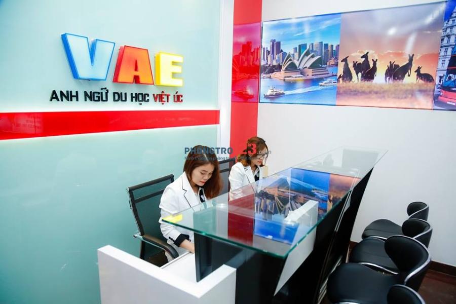 Cho thuê văn phòng làm việc tại tòa nhà VAE 334 Tân Sơn Nhì