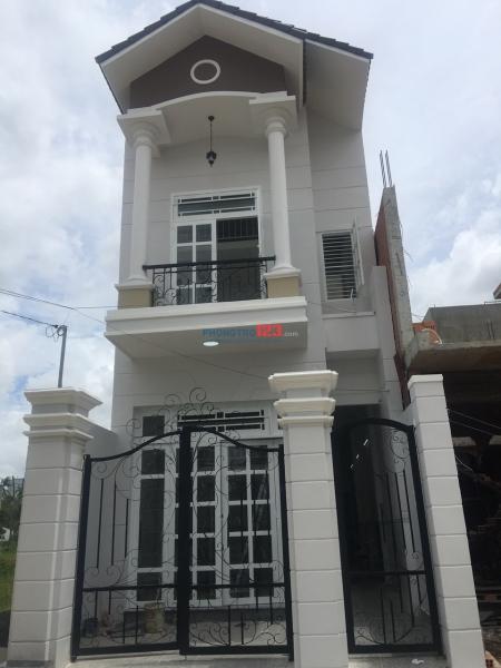 Cho thuê nhà trọ mới xây đẹp Q.9 giá từ 1,9tr-4tr; DTSD: 23-50m2