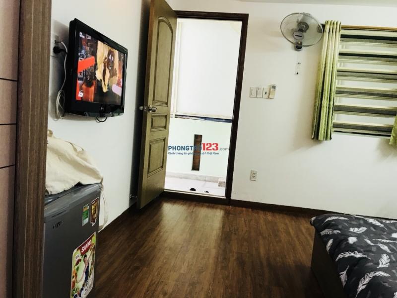 Căn hộ studio mini giá rẻ tại Quận 1, 25m2 chỉ 6tr