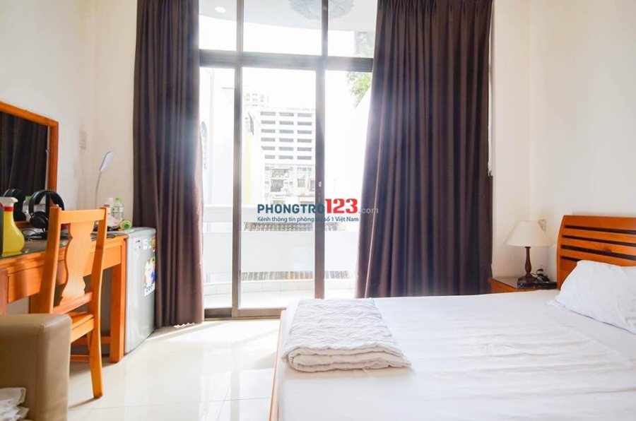 Phòng Cho Thuê Full Tiện Nghi  mới xây ban công cửa sổ thoáng mát Như Hình 22 Yên Thế Ngay Sân Bay