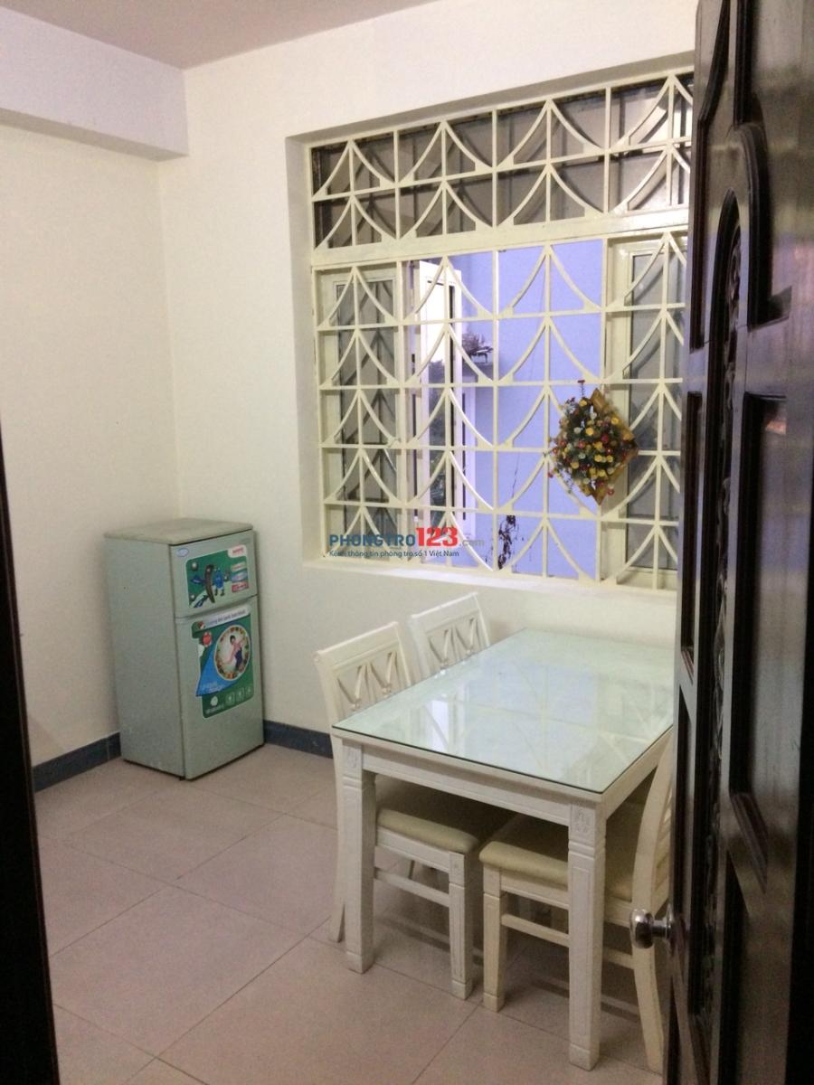Phòng trọ, căn hộ mini 2 phòng ngủ tiện nghi ngay trung tâm Q.2, DT 45m2