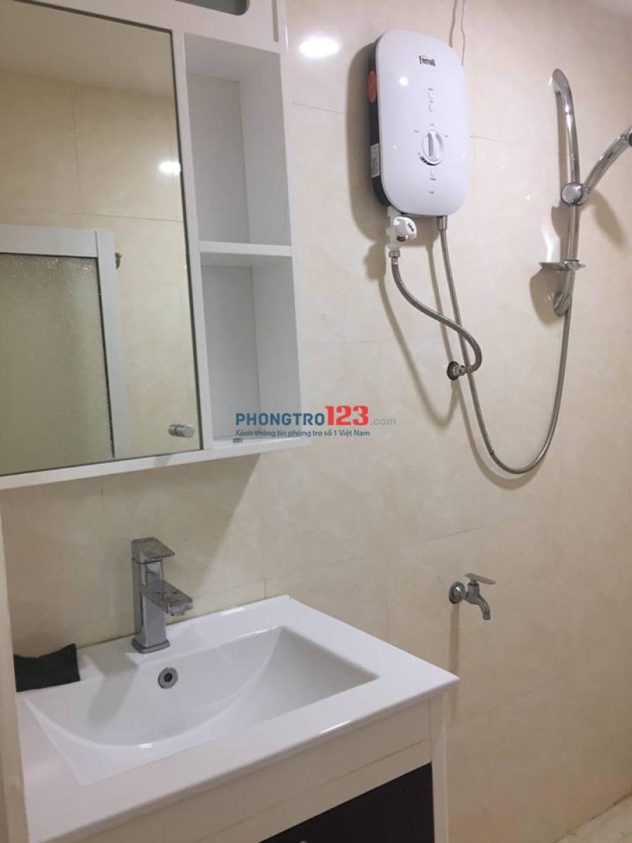 Cho thuê phòng tại Quận Phú Nhuận, full nội thất, giao nhau Huỳnh Văn Bánh, yên tĩnh- an ninh