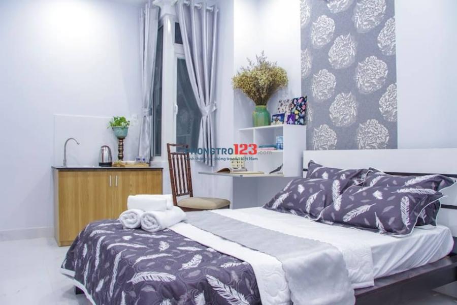 Cho thuê phòng mới xây thoáng mát sạch sẽ ngay sân bay Tân Sơn Nhất