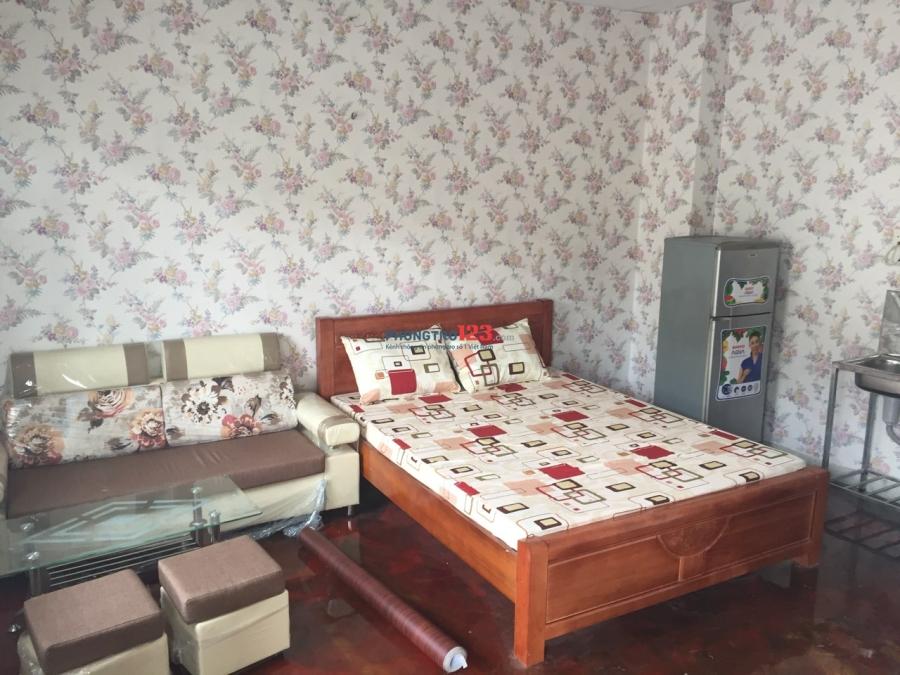 Phòng trọ full nội thất, an ninh, sạch sẽ gần đại học Hutech quận Bình Thạnh