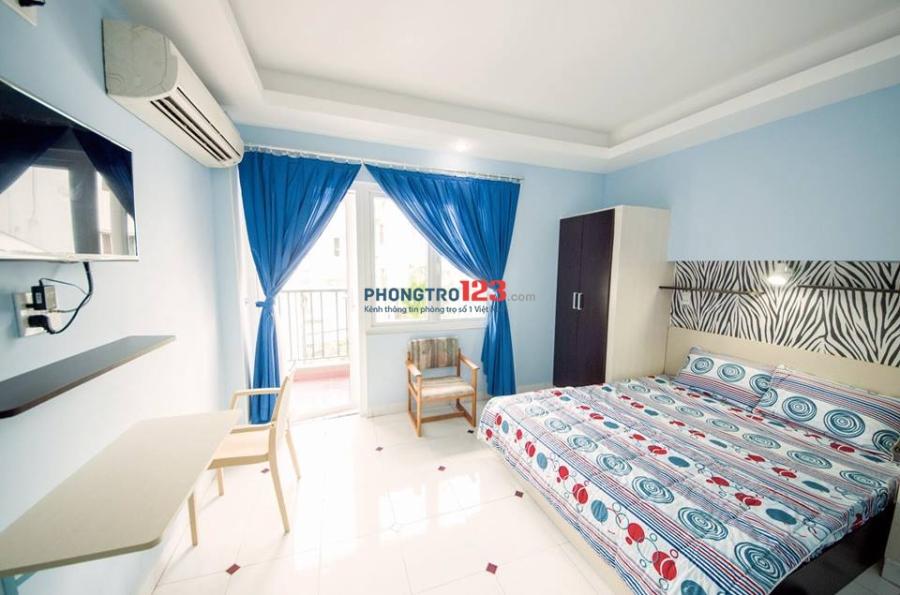 Căn hộ cao cấp, Full nội thất tại 214 Nguyễn Trãi, Quận 1