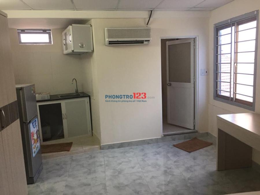 Phòng cho thuê tại quận Phú Nhuận, full nội thất, giao nhau Huỳnh Văn Bánh, yên tĩnh, an ninh
