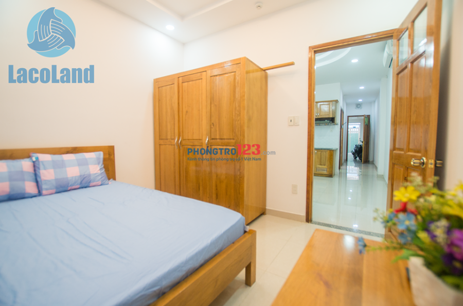 Căn hộ chung cư mini Tại Quận 1, Đường Nguyễn Trãi, Full nội thât, Phòng rộng, An ninh, Yên tĩnh