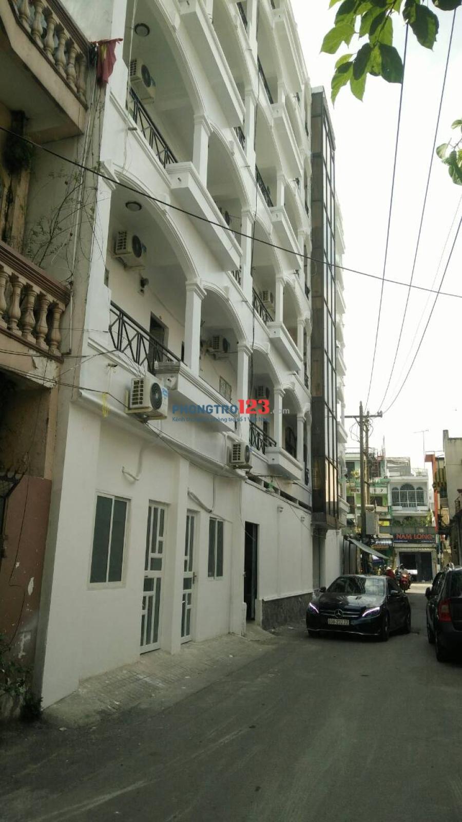 Cho thuê phòng trọ cao cấp 378 XVNT, phường 25, Bình Thạnh ngay cạnh ngã tư hàng xanh