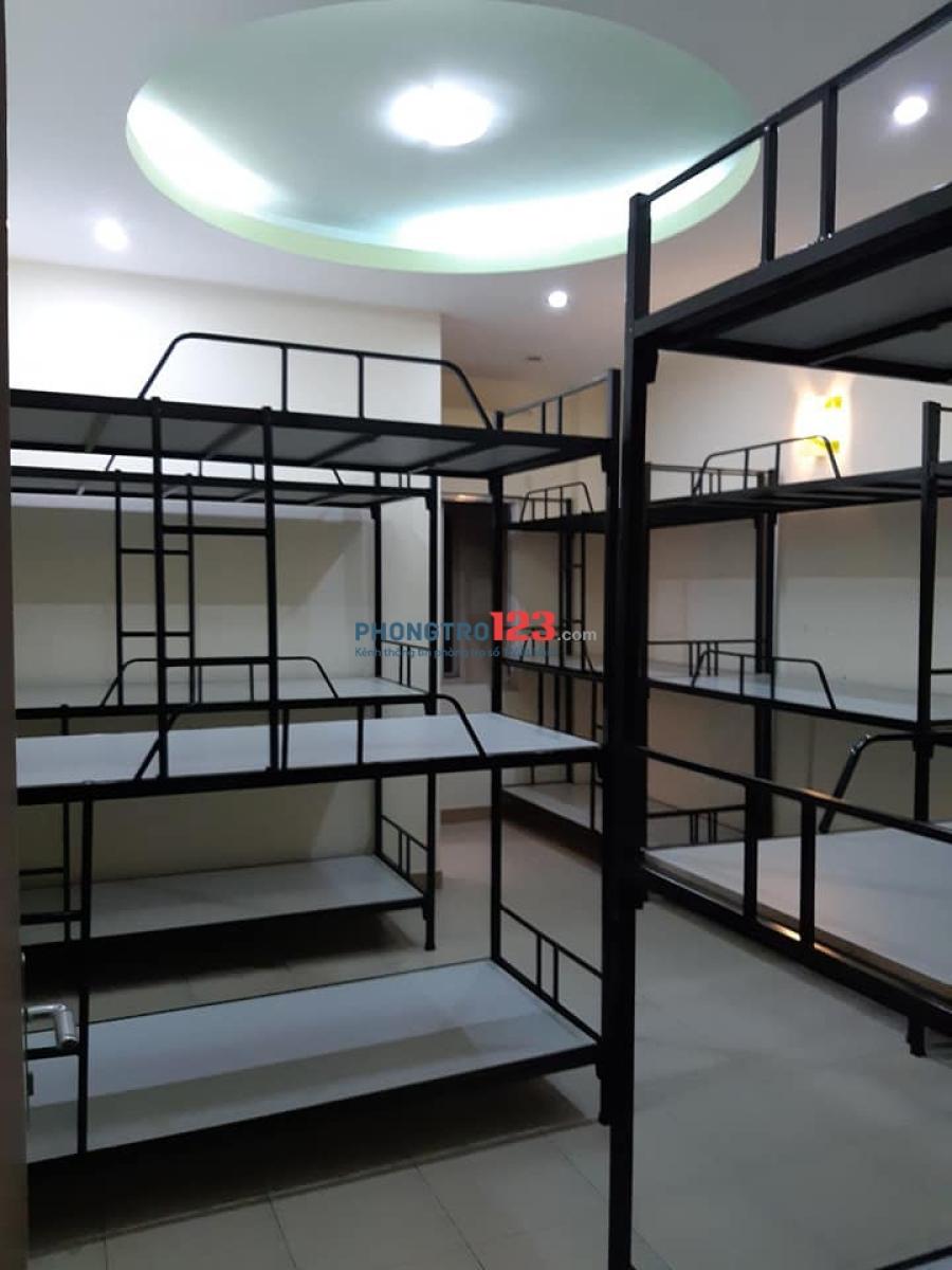Cho Thuê Phòng Trọ, KTX máy lạnh giá 500k/giường/tháng
