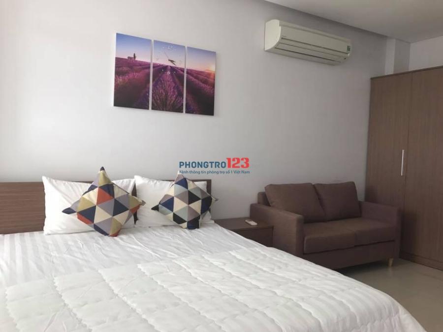 Cho thuê căn hộ full nội thất cao cấp, tại 128 Trần Quang Diệu, Quận 3