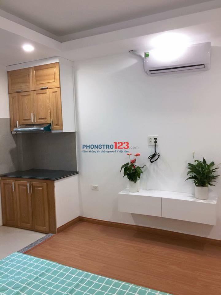 Cho thuê căn hộ mini 35m2 khu sân bay full nội thất