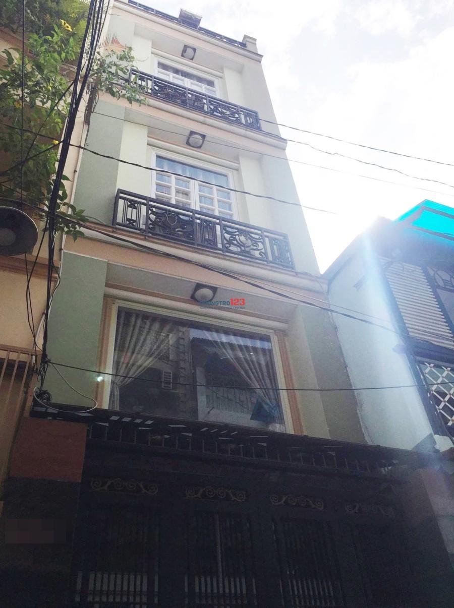 Nhà nguyên căn 5PN/6WC/HXH/nội thất cao cấp