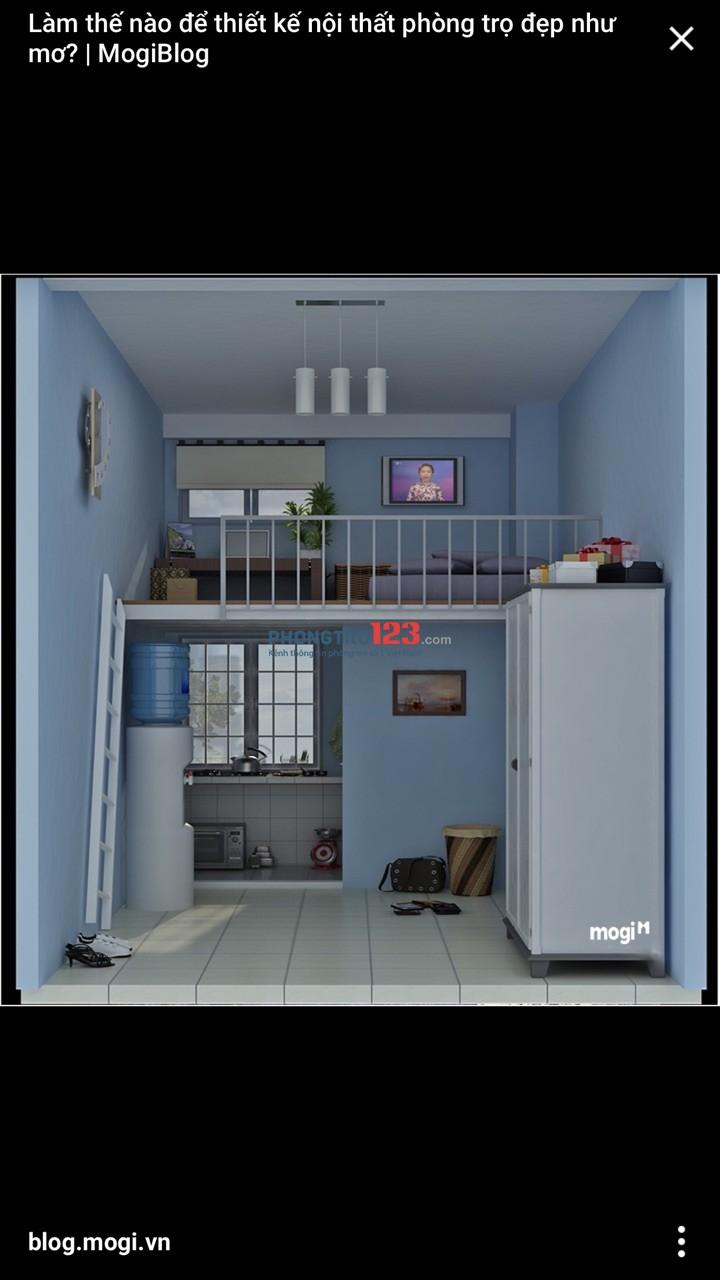 Cho thuê phòng trọ mới xây (căn hộ mini)