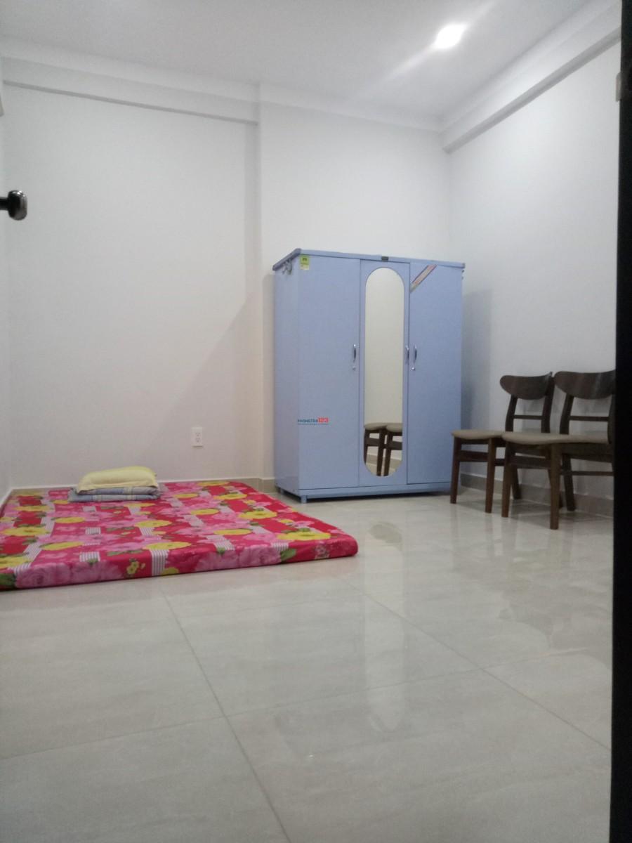 Cho thuê phòng sạch đẹp trong căn hộ mới xây Q.8, giá 2tr3