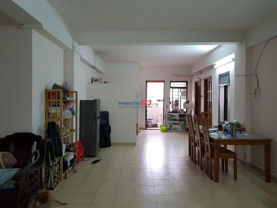 Share 1 phòng trống trong căn hộ chung cư 80m2 Quận 4