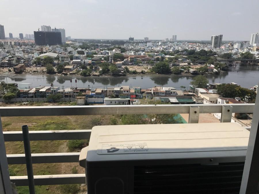 Cho thuê chung cư Quận 4 thiết kế 2PN 1wc DT 67m2, Bao Phí quảnq lí 17tr/tháng