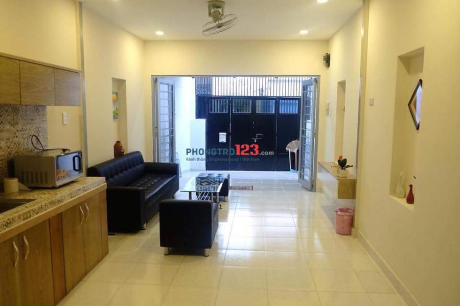 Căn hộ dịch vụ full nội thất sạch đẹp Q.3