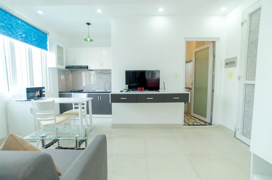 Căn hộ studio cao cấp mới 100% đường Lê Văn Sỹ, sát Coop Mart Nhiêu Lộc trung tâm Quận 3