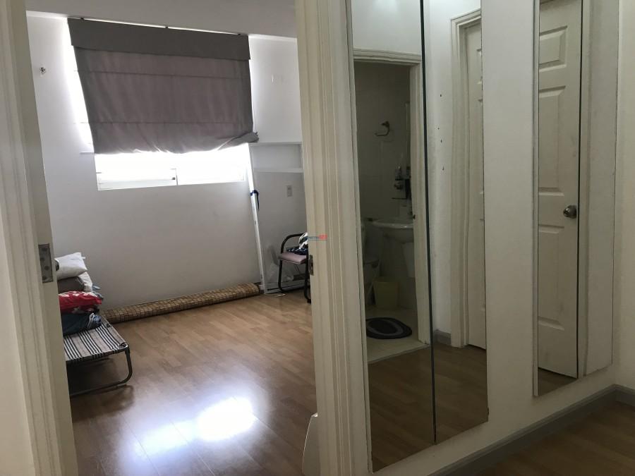 Share 1 phòng chung cư cho nữ, giờ tự do, không chung chủ, giáp Quận 1, chung cư Khánh Hội 3 - Quận 4