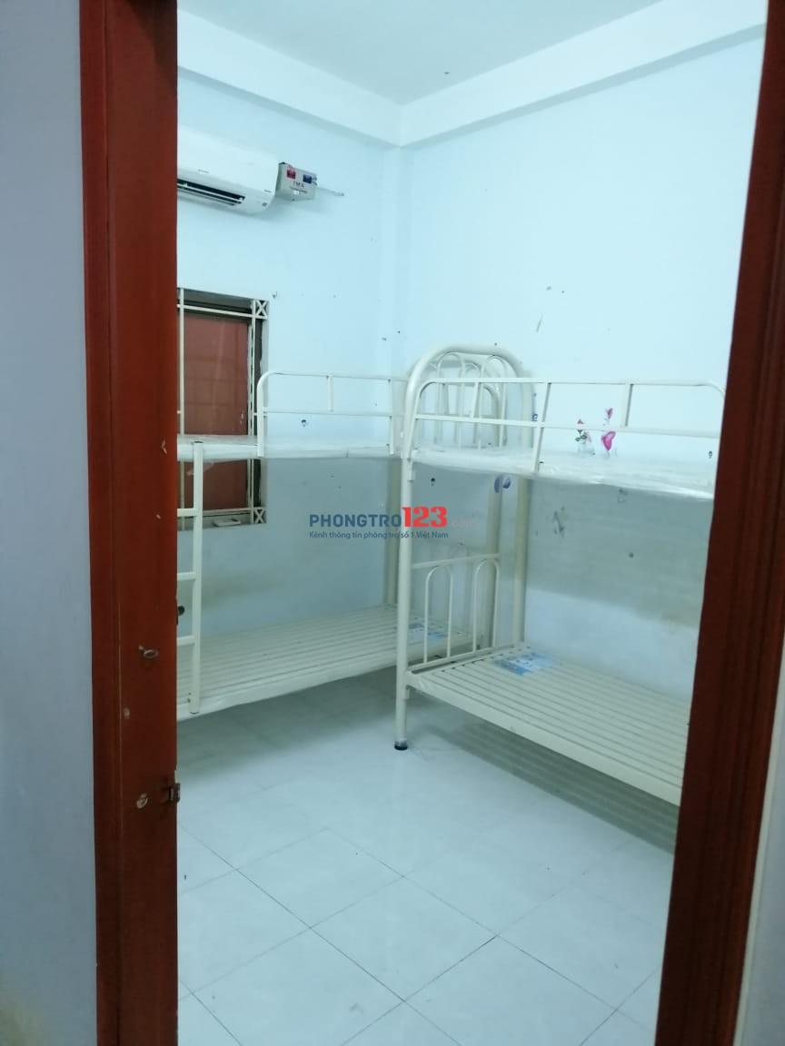 Phòng riêng hoặc giường tầng giá cực rẻ trung tâm Quận 7
